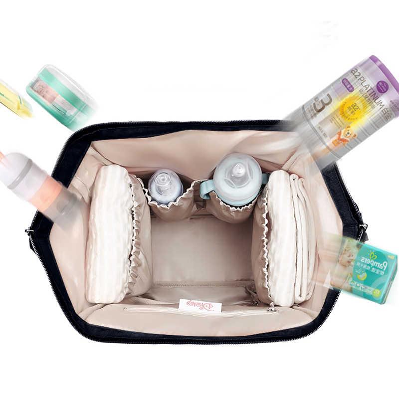 Disney Minnie bébé sac pour maman imperméable grande capacité lait isolation thermique sac de maternité couche-culotte sac à dos en gros