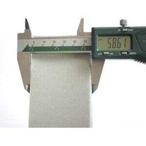Image 4 - 10PCS Wet & Dry Flocking Sanding Sponge Self adhesive Disc Sandpaper Rectangular 58*100MM 300 3000 Grit Polishing Grinding Tools