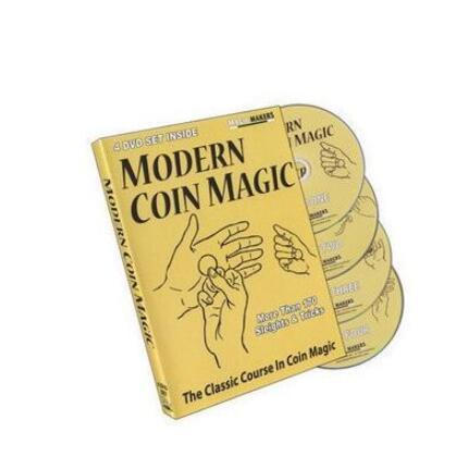 Magic Makers - Modern Coin Magic (1-4) Magic Tricks