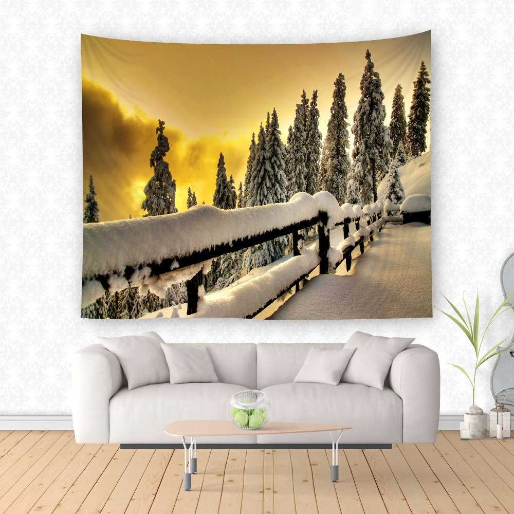 gold tapestry wall hanging art decor twin hippie boho beach sitting blanket bedroom cover tpy63