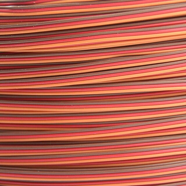OliYin 5m/10m Servo JR Color Extension Cable 3p Line Futaba JR Aircraft Model Wiring Wholesale 30 core x0.08mm 1.2mm