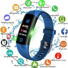 2019 New Smart Sport Watch Pedometer Heart Rate Monitor Blood Oxygen Fitness Tracker Wristband Swim Waterproof