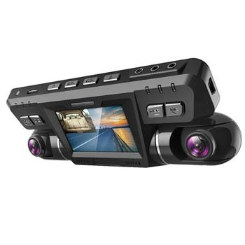 Dashcam Dual Lens HD Night Vision Wide Angle Car Video Recorder Parking Monitoring Car DVR Camera monitoring WiFi ADAS