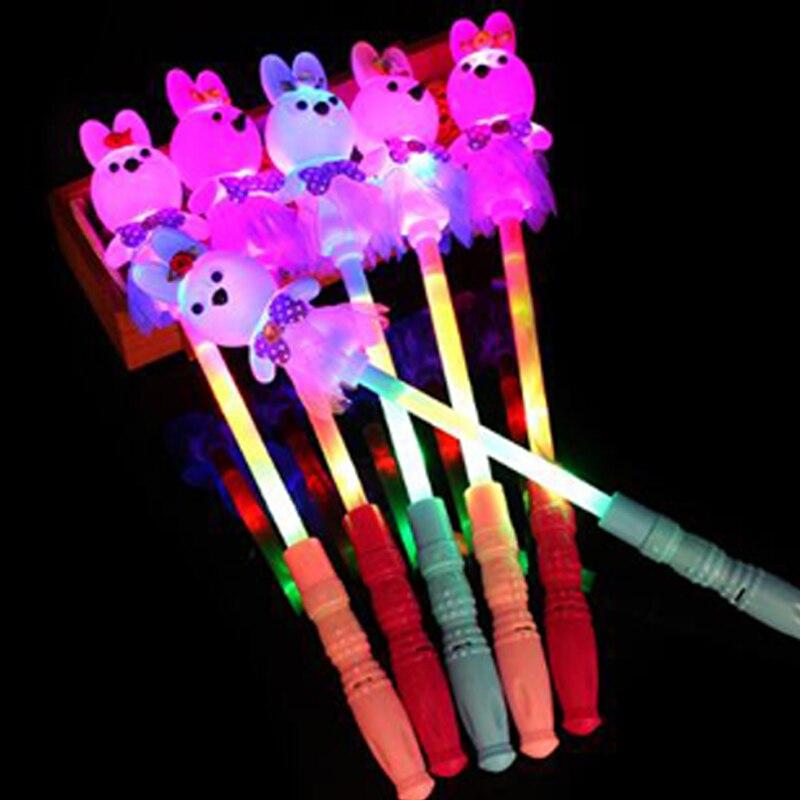 party led glow stick Rabbit smiley LED Foam Stick Light-Up Stick Festival wedding Party Decoration Concert Prop Bar led toy (8)