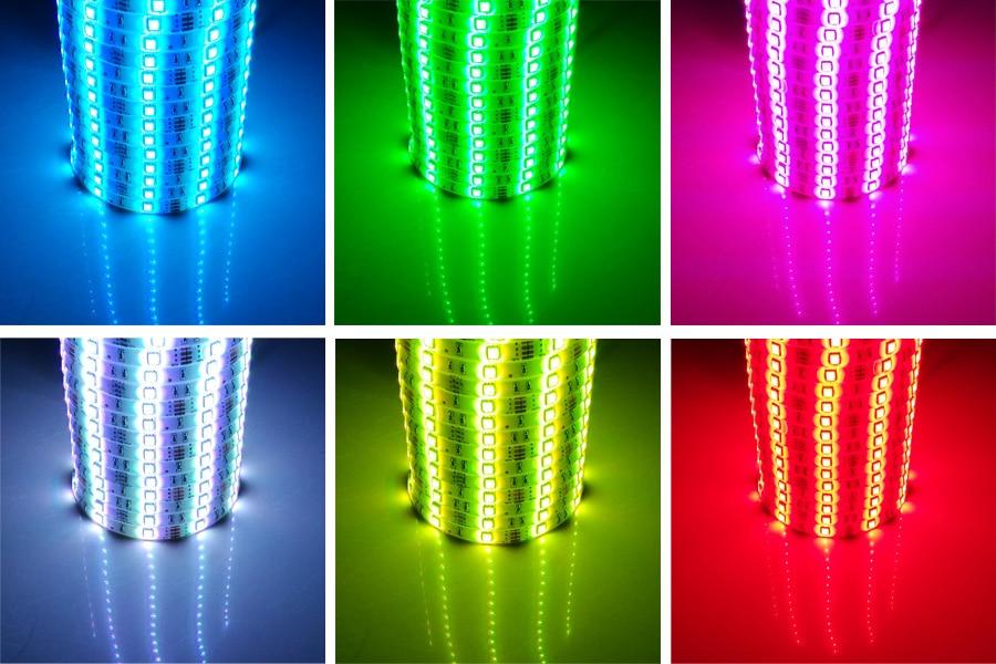 HTB1vaZmayfrK1RjSspbq6A4pFXa3 5m 10m 15m WiFi LED Strip Light RGB Waterproof SMD 5050 2835 DC12V rgb String Diode Flexible Ribbon WiFi Contoller+Adapter plug