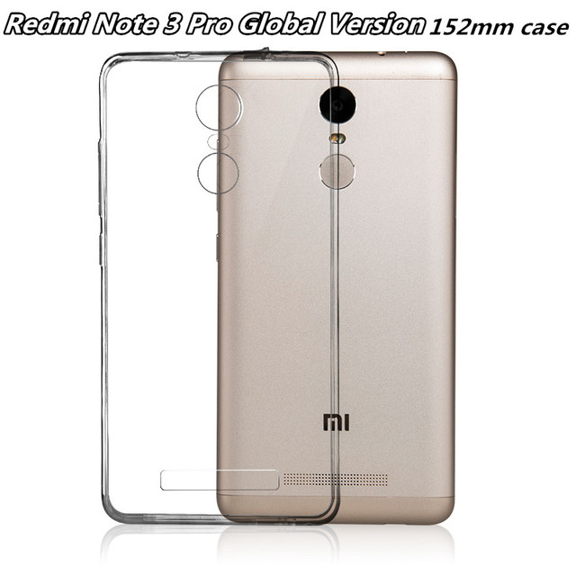 on sale 7b9a5 48752 US $1.99 |152mm Cases For Xiaomi Redmi NOTE 3 PRO SE Special Edition kate  Official Global Version Transparent Cover Silicone TPU Phone-in  Half-wrapped ...