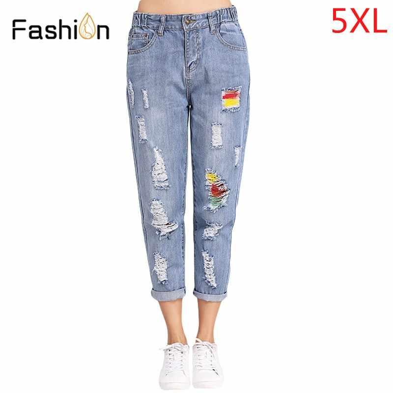 95e6b6dec1b Винтажные Джинсы бойфренда для женщин со средней талией джинсовые джинсы  женские винтажные свободные джинсы-шаровары
