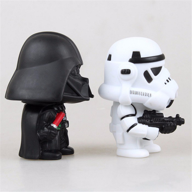 Star Wars Action Figures – Trooper & Darth Vader