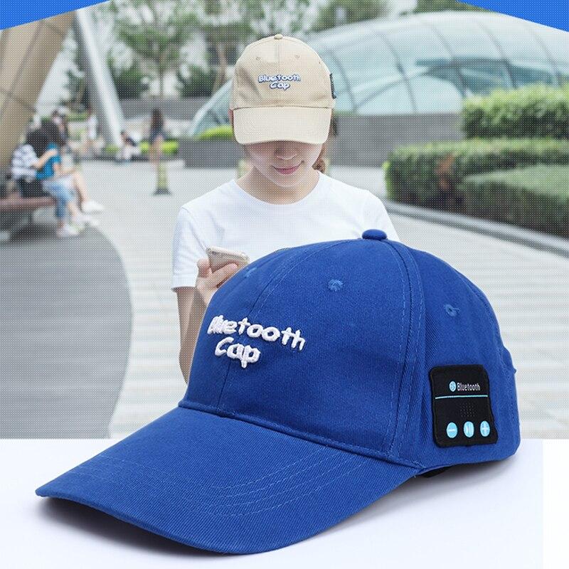 CALION Wireless Headphones Cap Bluetooth Headsets Hats Summer Sports Smart Earphone Hat Baseball Headset With Mic New Wholesales