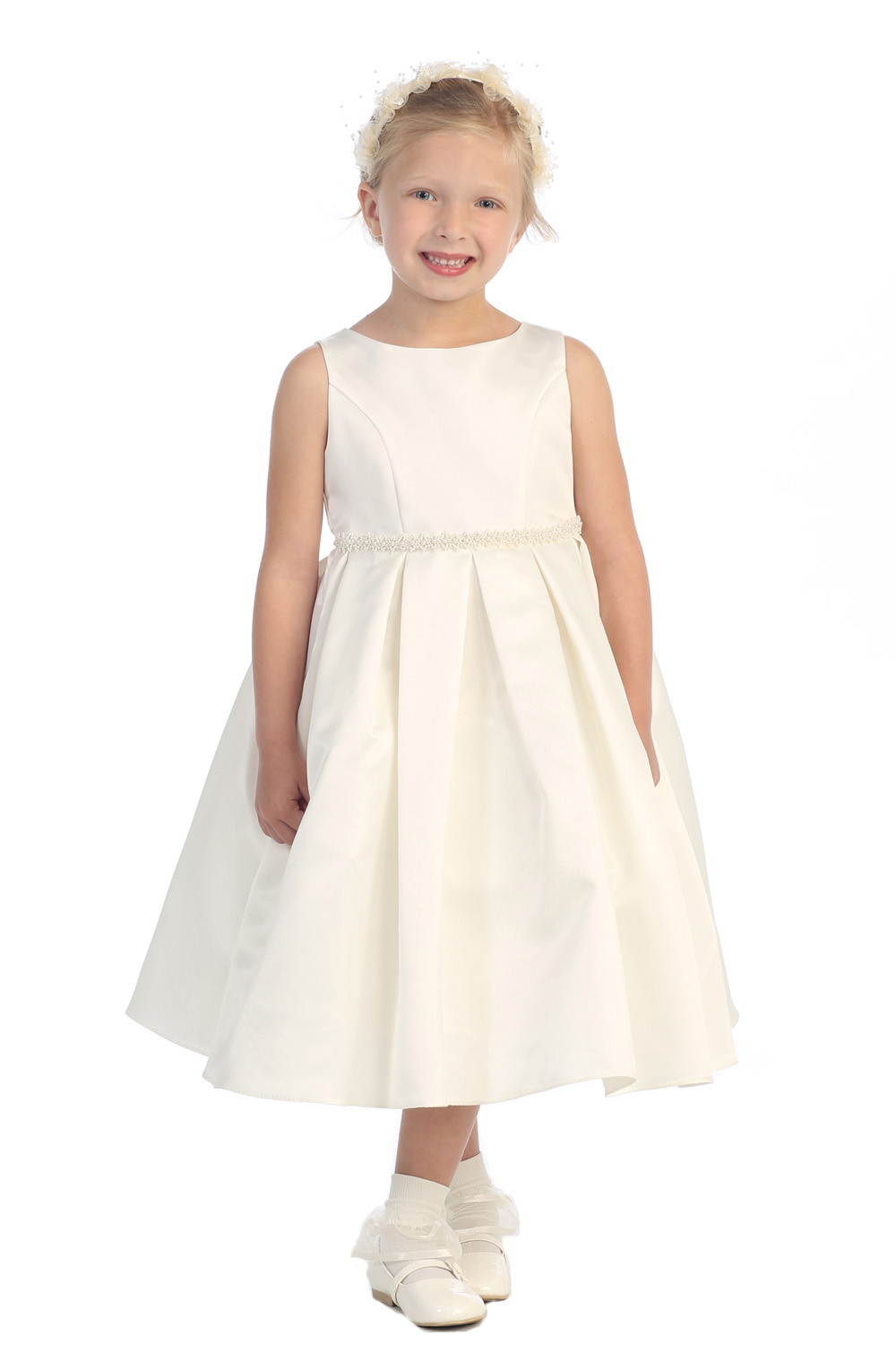 Flower Girls Dresses For Wedding Gowns A-line Girl Birthday Party Dress Fashion Girls Pageant Dresses Mother Daughter Dresses new white ivory nice spaghetti straps sequined knee length a line flower girl dress beautiful square collar birthday party gowns