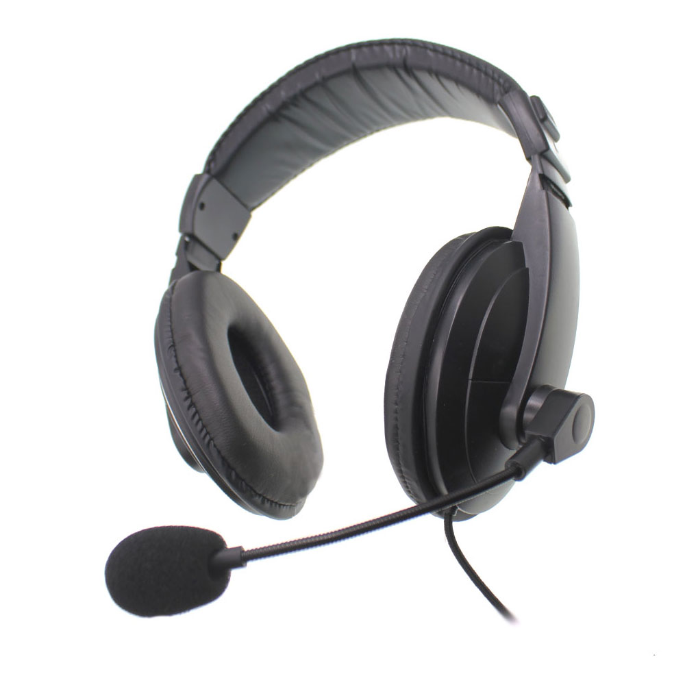 Oiginal Noise Cancelling Sport Headset For BF-888S UV5R UV82 TH-UV8000D. Etc Two Way Radios K1 Plug For Racing Game Field
