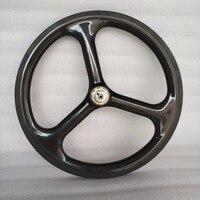 Сема T700 16 дюймов trispoke обода углерода и 2 Скорость углерода колесо для складной велосипед brompton велосипед 3 К/ UD/12 К многоцелевой super light