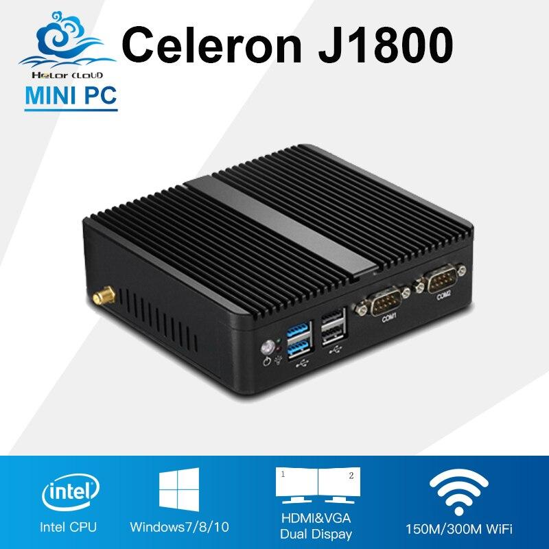 Mini PC Celeron J1800 2.41GHz Dual Lan Mini Industrial s