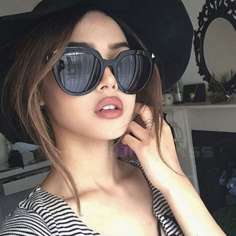 New Arrival Summer Fashion Men Women Vintage Mirrored Glasses Lens Sunglasses Outdoor Eyewear UV400
