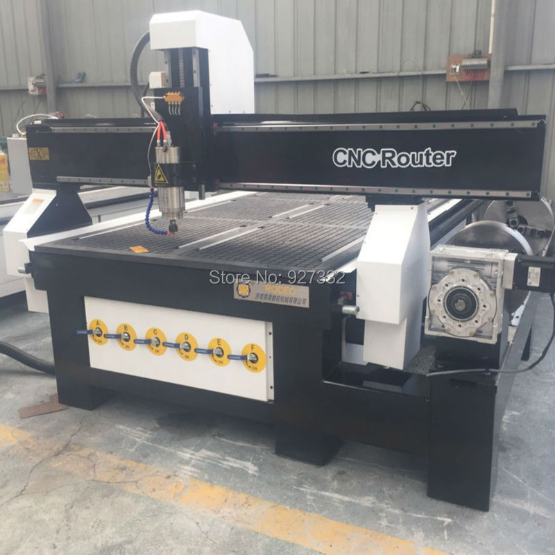 Máquina de corte cnc de alta resistencia / maquinaria de madera cnc - Maquinaría para carpintería - foto 3