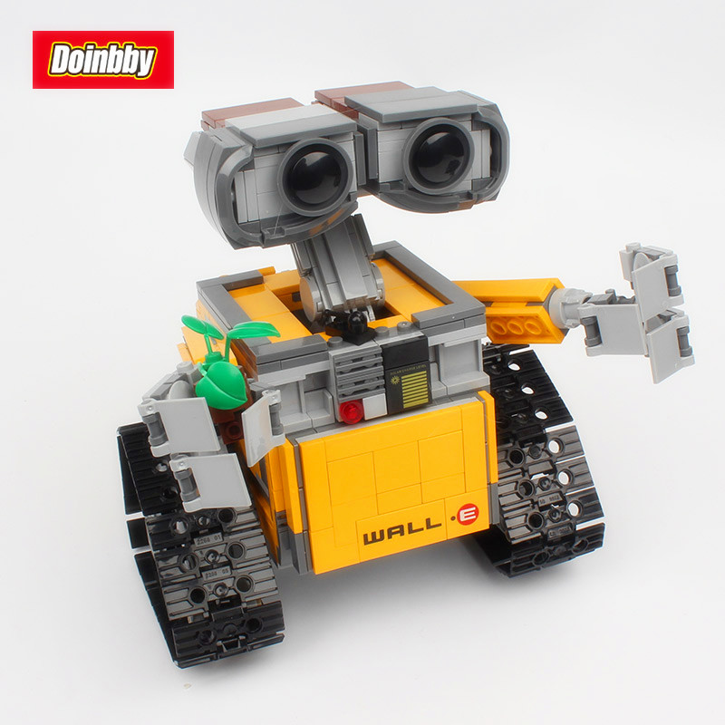 Technic Movie Series Idea Robot WALL E Building Blocks Toys 687Pcs Educational Kids Gifts Compatible LegoingsTechnic Movie Series Idea Robot WALL E Building Blocks Toys 687Pcs Educational Kids Gifts Compatible Legoings