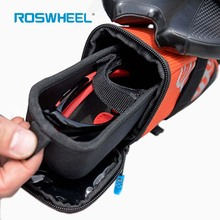 ROSWHEEL Saddle Bag Bike Panniers Waterproof Pouch  Durable Drawer Style MTB Mountain Bicycle Bag Cycling Rear Seatpost Tail Bag