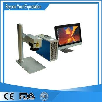 Hot sale jewelry laser engraving machine on metal laser marking