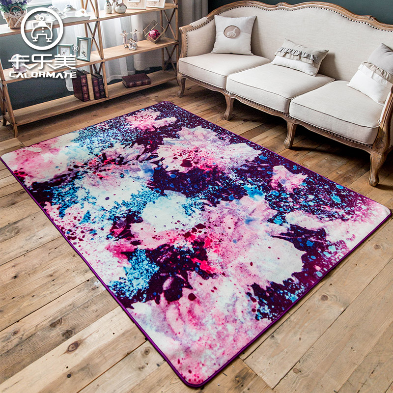 1.6m*2.3m Abstract Pattern Living Roomlarge Carpet Color Rug Rectangle  Alfombra Bedroom Rest Pad Non Slip Mat Otomanos Big Matoo