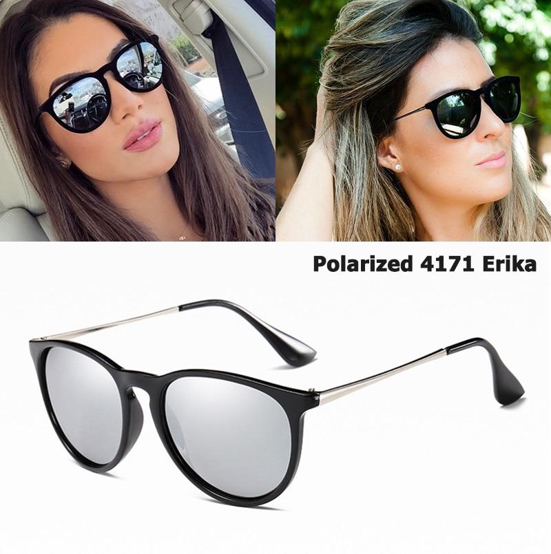 JackJad 2020 Fashion Women 4171 POLARIZED Round Style Sunglasses Vintage Classic Brand Design Sun Glasses Oculos De Sol Feminino