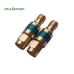 Image 5 - 2 W SMA الذكور إلى الإناث المخفف DC 6.0GHZ 50ohm 1 30dB موصلات RF الطاقة المخفض مانع