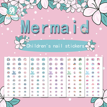 Get more info on the Rocooart Mermaid Nail Stickers For Kids Cartoon Nail Art Decoration Nail Wraps Cute Elements Manicure Foil Nail Art Decal Child
