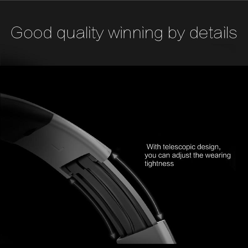Zealot B570 Earphone Headphone with LCD Screen Bluetooth Headphone Foldable Hifi Stereo Wireless Headset FM Radio TF SD Slot 18