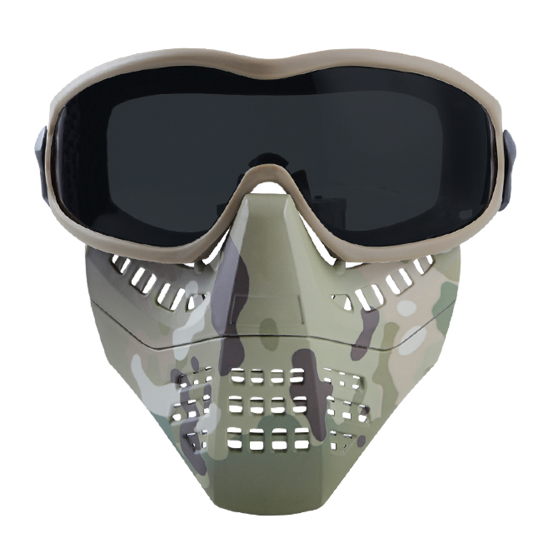 WST Outdoor Tactical Helmet Accessories Ant Type Mask Face Guard Protective Mask For Hunting Shooting Defend Mask 2019 Summer