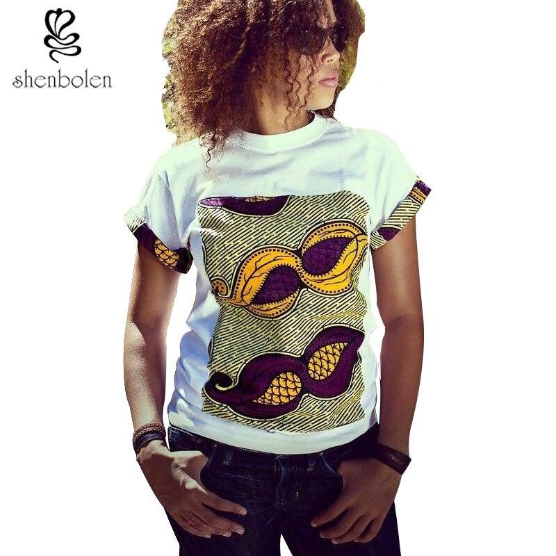2016 summer african clothing tops for women batik wax ...