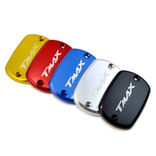 BJMOTO Motorbike Brake Fluid Tank Cap T max Motorcycle Fluid Oil Reservoir Cover For YAMAHA T-Max 500 TMax 530 Aluminum цены
