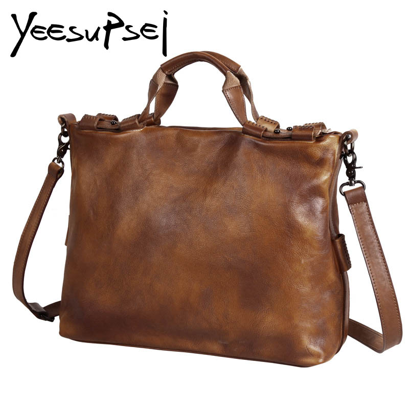 YeeSupSei Genuine Leather Bag Large Women Leather Handbags Famous Brand Vintage Women Messenger Bags Big Ladies Shoulder BagYeeSupSei Genuine Leather Bag Large Women Leather Handbags Famous Brand Vintage Women Messenger Bags Big Ladies Shoulder Bag