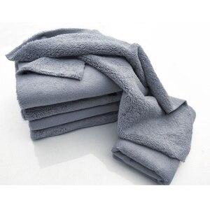 Image 3 - Paño de microfibra sin bordes para pulir, 40x40cm, 380g/m², toalla profesional sin bordes para pulir, pulir y lavar el coche, 1 ud.