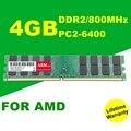 Оптовая New Sealed DDR2 4 ГБ 800 МГЦ PC2-6400 sodimm ОПЕРАТИВНОЙ Памяти Для Настольных ПК AMD Система Совместимость