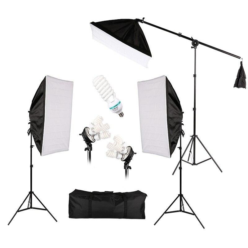 Hot Sale Photo Studio Lighting Kit Photography Studio Portrait Product Light Tent Kit Photo Video Equipment