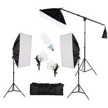 Hot Sale Photo Studio Lighting Kit Photography Studio Portrait Product Light Tent Kit Photo Video Equipment With Oxford Bag цена