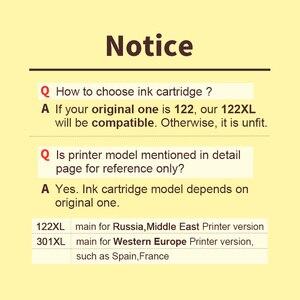 Image 2 - HWDID 122XL napełnić, wymiana wkładu z tuszem do hp 122 XL dla Deskje 1000 1050 2000 2050 3000 3050A 3052A 3054 1010 1510 2540