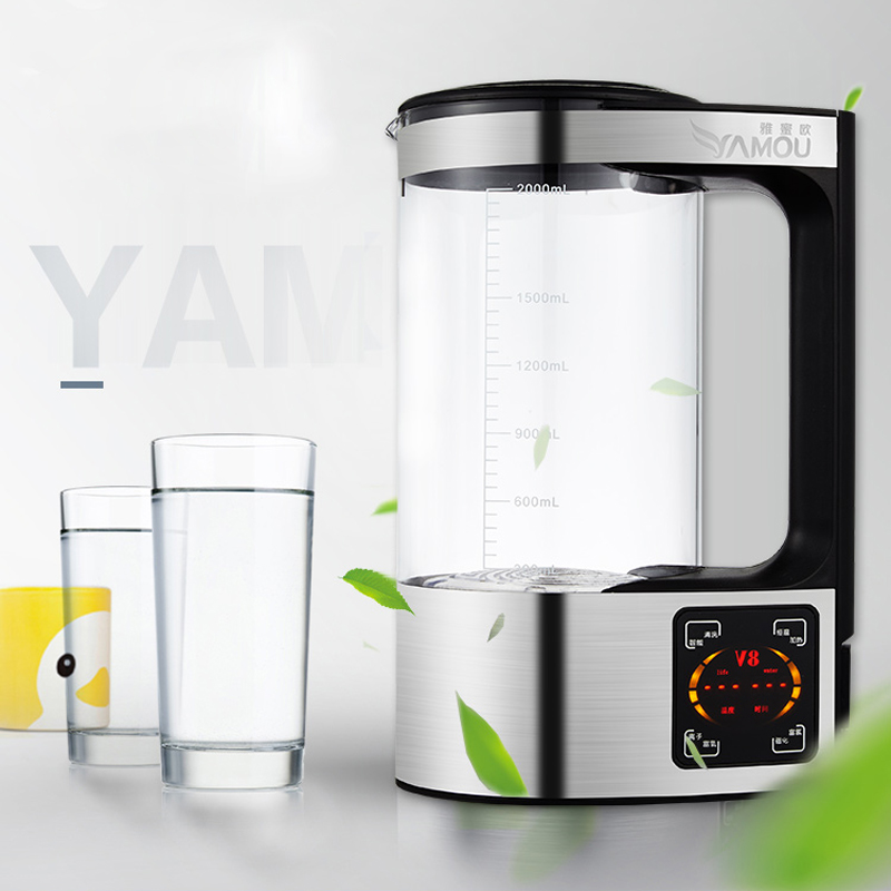 Rich Hydrogen Water generator Bottle water ionizer filter Drink Machine Alkaline Water 2L new arrival hydrogen generator hydrogen rich water machine hydrogen generating maker water filters ionizer 2 0l 100 240v 5w hot