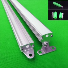 10pcs/lot 80inch 2 meters/pc L end cap /Rotatable aluminum profile for led strip,milky/transparent cover for 12mm pcb