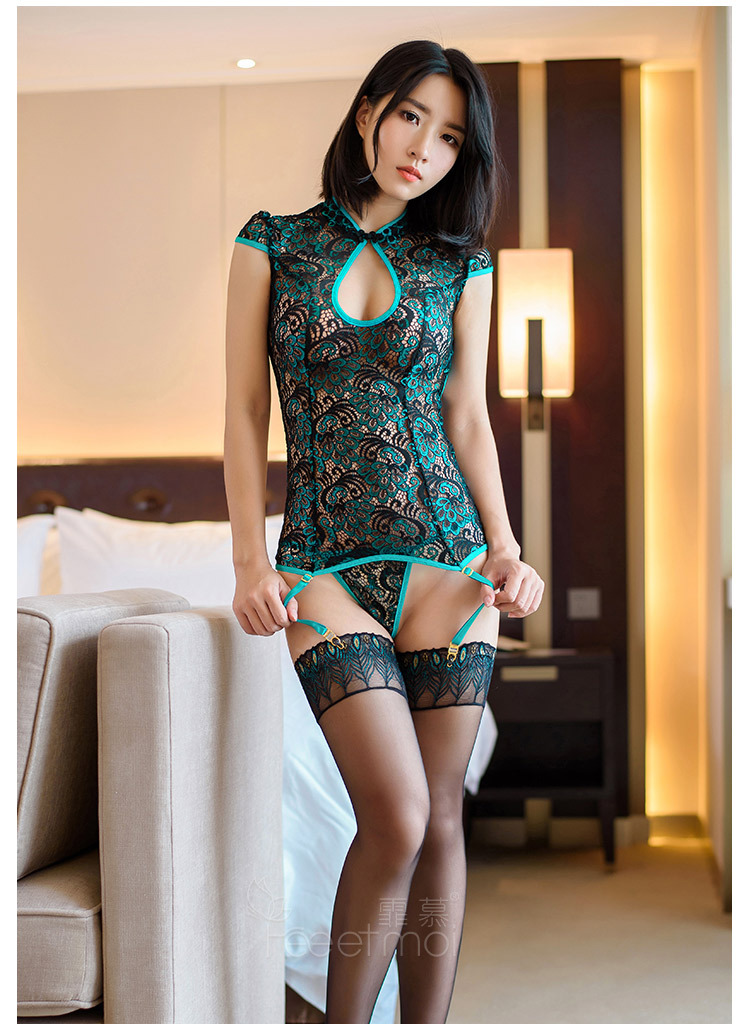 Женский сексуальный купальный костюм в спальню, кружевная вышивка, павлин, Тедди, ночные рубашки, романтический бутик, Cheongsam, слипы, нижнее белье, подарки на день Святого Валентина