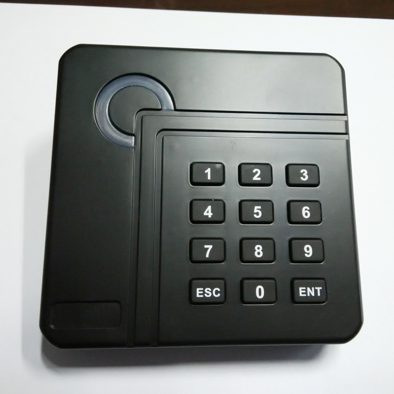 100*100*20 mm keypad rfid card reader with access control system 100