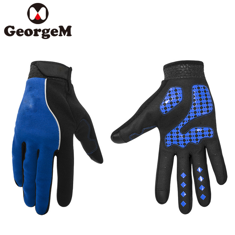 MTB Road Bike Glove Bicycle Riding Glove Outdoor Sport Fitness Gloves Cycling Touch Screen Long Finger Cycling Gloves Mittens