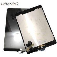 100% AAA + LCD สำหรับ Apple ipad Air 2 แผงเปลี่ยนสำหรับ ipad 6 A1567 A1566 จอแสดงผล LCD หน้าจอสัมผัส digitizer Assembly