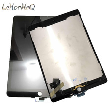 100% AAA + LCD Per Apple ipad Air 2 Pannello repalcement parte Per ipad 6 A1567 A1566 Display LCD Touch screen digitizer Assembly