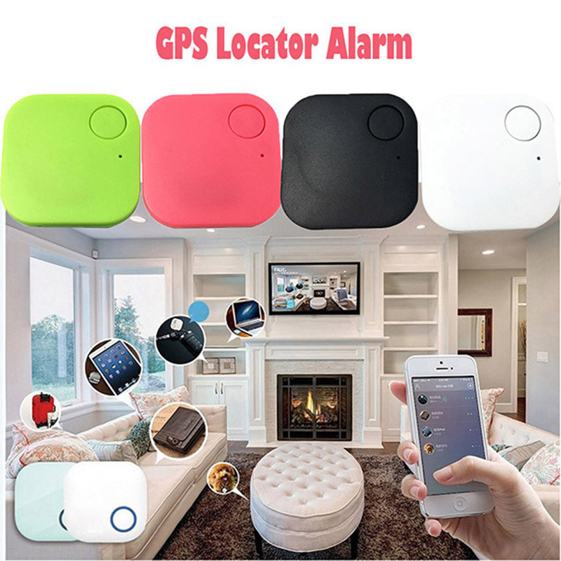 Gps Smart Tag Finder Bluetooth Tracer Child Pet GPS Locator Alarm For Wallet Key Tracker Google Map Keys/Wallet/Phone Bluetooth ...