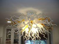 Blown Glass Pendant Lamps Art Glass Lighting White Pendant Light White Red Home Lighting