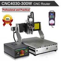 CNC routeur 4030 300 W Machine de gravure 110 V/220 V gravure fraiseuse