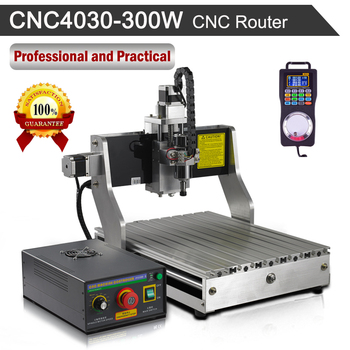 Roteador cnc 4030 300 w máquina de gravura 110 v/220 v máquina de trituração de gravura