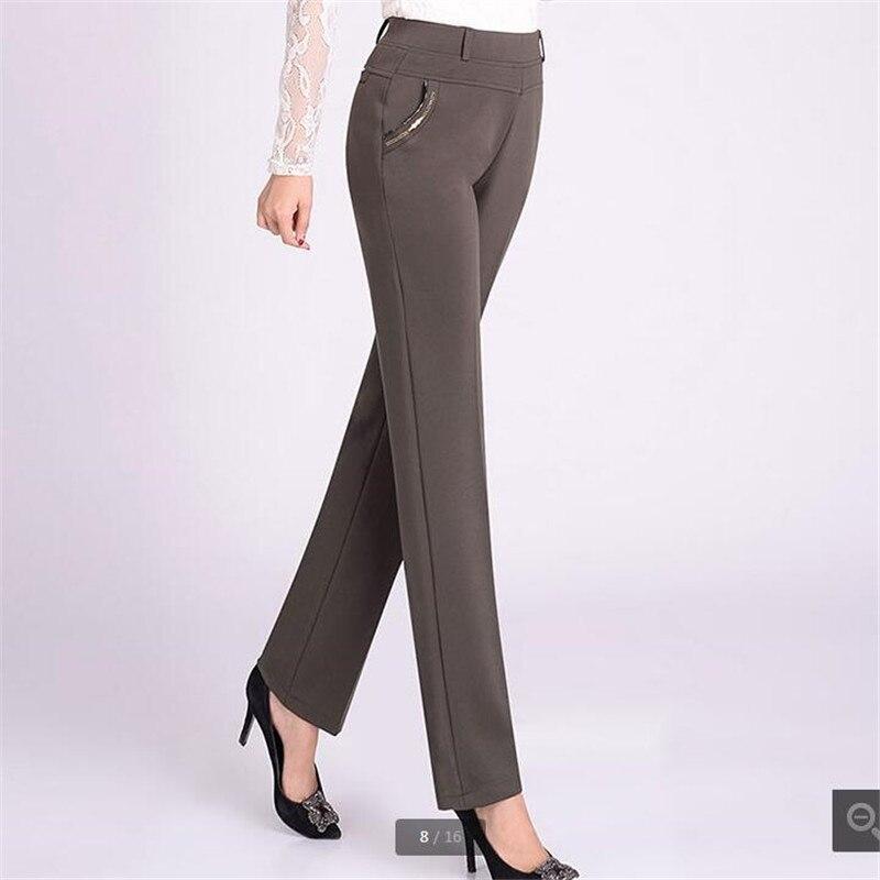 Fashion Casual pants women 2018 Long loose pants Tall waist Women's pants NEW Spring/autumn trousers women 5xl Stretch K3597