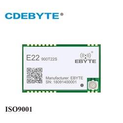 Sx1262 E22-900T22S 915 mhz smd uart transmissor sem fio e receptor smd rf módulo rssi net trabalho transceptor para antena ipex