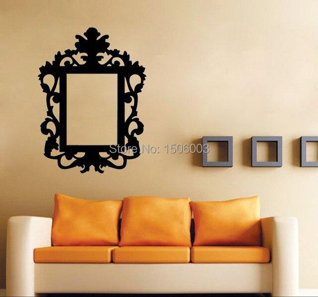 Rahmen Barock Dekoration Wandkunst Wohnzimmer Wandbilder Schlafzimmer  Tapeten Zitat Kinder Wandaufkleber